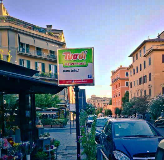Piazza Crati - quartiere Trieste